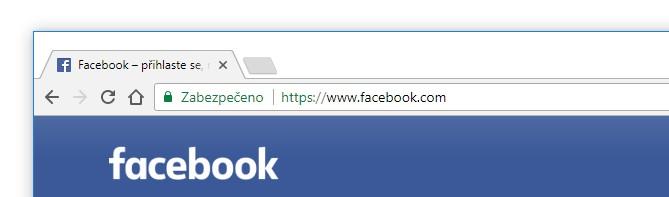 Bezpečné přihlášení na Facebook s HTTPS