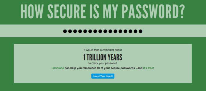 Silné heslo je základ bezpečnosti.