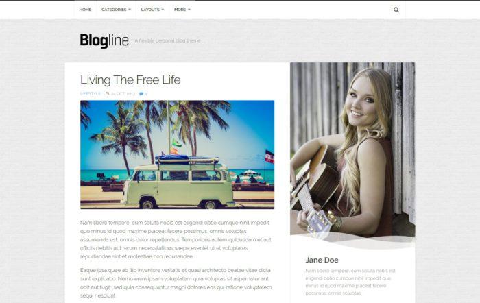 Nejlepší WordPress šablony pro blog zdarma.