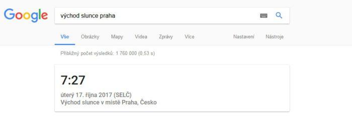 Chytré hodiny od Google.